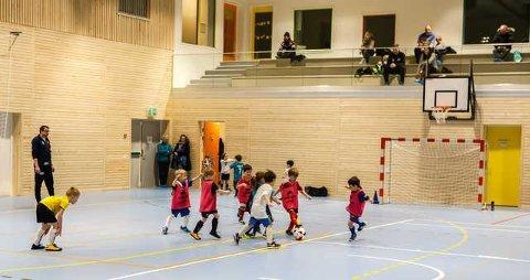 Stengt: Saltneshallen har vært stengt siden i sommer til fortvilelse for Saltnes sportsklubb som benytter hallen til sine aktiviteter.