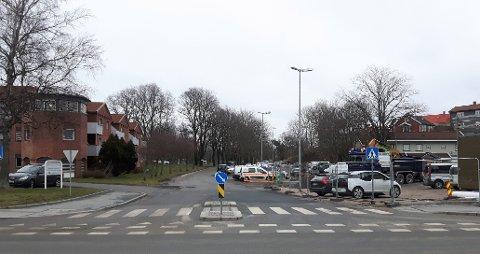 Floaveien stenges for gjennomkjøring fra og med mandag 23. mars.