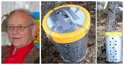 """""""MYSTISK"""": Det var dette objektet Gunnar Simonsen fant på Seines."""
