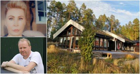 TIDLIGERE HJEMREISE: Anne Løvlien (52) og ektemannen Geir Johansen (52) har hytte i Arvika i Värmland. Fredag kveld må de reise hjem for å unngå karantene.