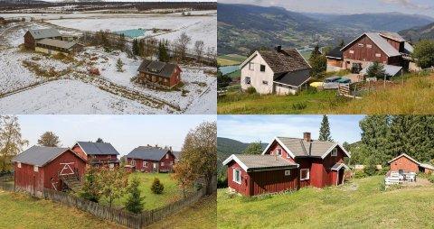 I årets siste dager ligger ni småbruk i Gudbrandsdalen ute til salgs på Finn.no.