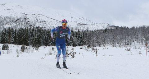 UREDD: Petter Stokkeland lot være å gå med feste enda det var soner hvor det ikke kunne stakes på den andre NM-konkurransen i Harstad.