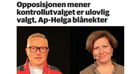 Fra Finnmarkens oppslag om saken