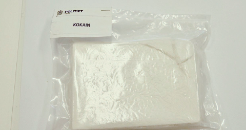 STORE MENGDER: Mannen skal ha kjøpt store mengder kokain. ILLUSTRASJONSFOTO: Politiet / NTB