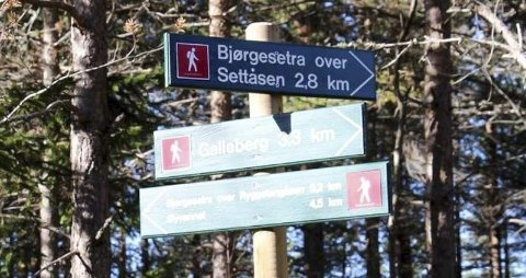 Friluft: Kommunen har laget kart over friluftsområder.
