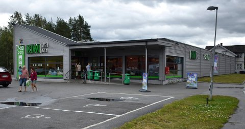 Selger mye øl: Hyttefolket gjør sitt til at denne butikken selger aller mest øl av alle dagligvarebutikker i Kongsberg kommune.