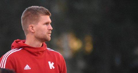 FORNØYD: KIF-trener Harald Sylfest Gaard.