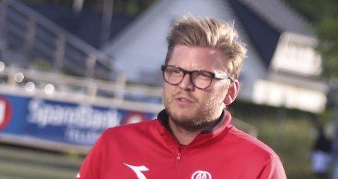 Tilbake på torsdag: Urædd-trener Stig Haddal ga spillerne noen ekstra feriedager. Han er ikke bekymret for at de kommer tilbake i dårlig form.