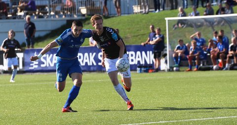 Like gode: Selv om Pors kjemper for å berge plassen i 3. divisjon, har Granit Shala & Co spilt uavgjort to ganger mot topplaget Ørn. Lørdag kunne de like gjerne vunnet.