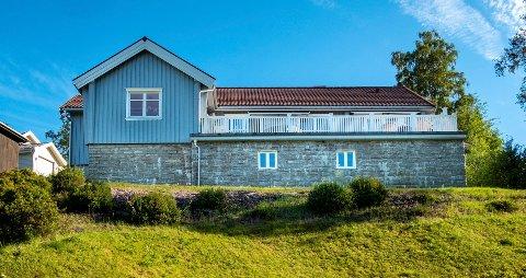 Huset i Doktorbakken legges ut for 9,9 millioner kroner.