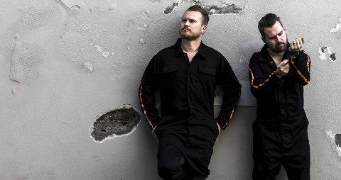 Morudes: Amund og Henrik Maarud slipper i dag debutalbumet til sitt nye duoprosjekt. Nå skal de ut og spille for folk.
