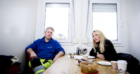 ENIGE: Rærlingen-entreprenør Bent Aasli og MEF-direktør Julie Brodtkorb er enige: Staten må snu om realkompetanse.foto: lisbeth Andresen Lund
