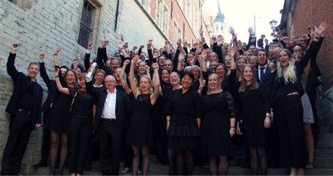 KANDIDAT 4: Lillestrøm Musikkorps kunne nylig juble for EM-sølv.