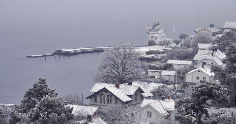KALDE DAGER: Det meldes om sprengkulde i dagene framover på halvøya – så som her på Filtvet. Foto: Edgar Dehli