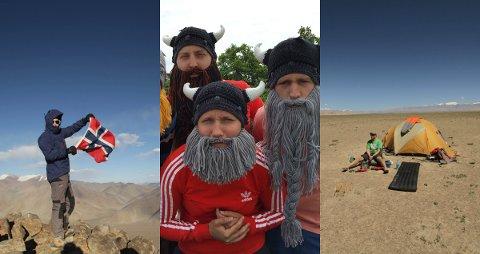 EKSPEDISJON: Anders Christoffersen skal sammen med resten av «The Misplaced Vikings» kjøre rally fra England til Mongolia.