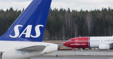 Norwegian er nummer 12 på lista over verdens beste flyselskaper, mens SAS er på 36. plass.