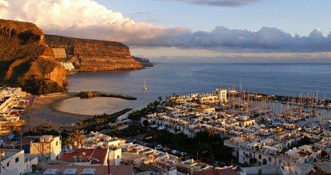 Hit til Mogán på Gran Canaria kan du reise senere i juni. Men du må i ti dagers karantene når du kommer hjem.