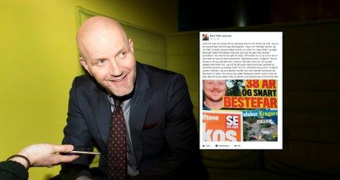 Foto: FREDRIK SOLSTAD (Innfelt: skjermdump fra Facebook)