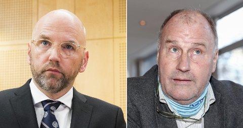 De profilerte advokatene Brynjar Meling (til venstre) og Oscar Ihlebæk minnes sin yrkeskollega.
