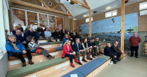 BEVARING GJENNOM BRUK: Ilene våtmarksenter, Holmen ble mandag tildelt bevaringsprisen for 2019 i besøkssenteret.