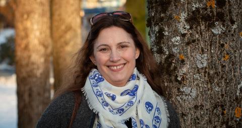 Marita Kristiansen er bosatt i Hølen med to barn. Nå har hun kommet på nominasjonslista Miljøpartiet De Grønne i Akershus før neste års stortingsvalg.