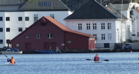 GALLERI: Galleri Gulbrandsen  legges til Kirkegata 56 som er det gamle biblioteket/rådhuset ved siden av den gamle brannstasjonen helt nord i Kirkegaten i Flekkefjord.