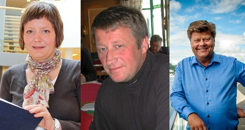Anna Elisabeth Kristoffersen, Martin Sivertsen og Morten Jakhelln.