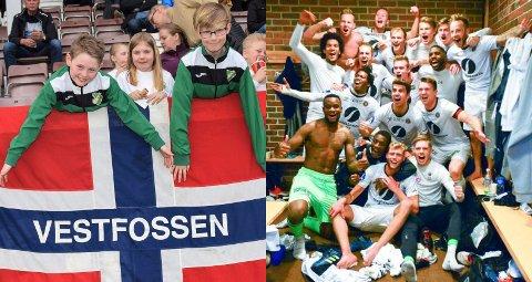 GRASROTANDELEN: Det ble Vestfossen IF og MIF som dro inn aller mest i Eiker-kommunene for 2018.