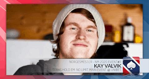 BEST: Kay Valvik frå Askrova vann NM i online-poker.