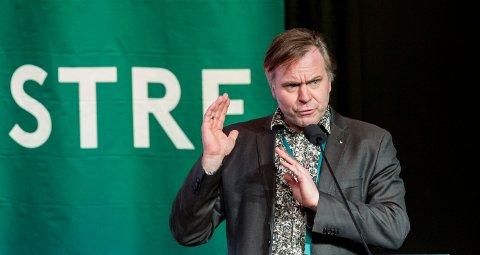 NOMINERT: Alfred Bjørlo kan bli ein del av Venstre sin nye leiartrio. Foto: Ned Alley / NTB scanpix