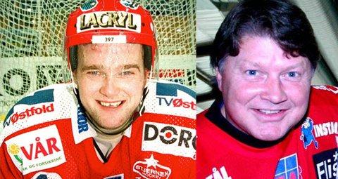 Til venstre: Legende I: Morten Finstad. Til høyre: Legende II: Ørjan Løvdal.