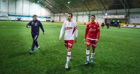 """VELGER MOLDE: Badr Rahhaoui er høyaktuell for å spille for Molde. Søndag setter han seg på flyet til """"Rosenes By"""". Foto: Joakim Simensen"""