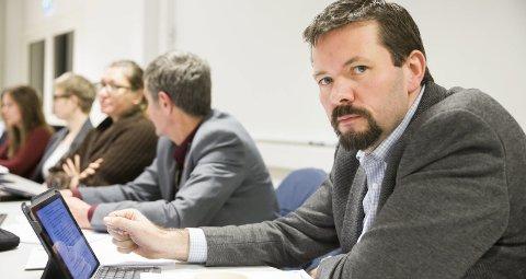 Ordfører i Evenes Svein Erik Kristiansen