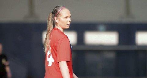 AMBISIØS: Marthe H. Taugbøl vil også på A-landslaget