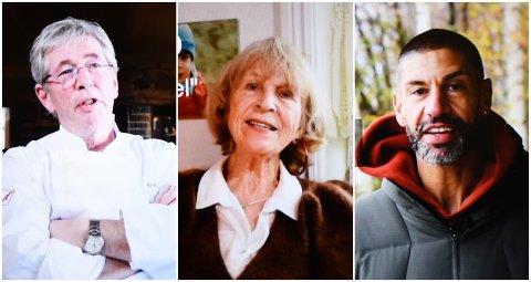 SENTRALE: Arne Brimi, Åshild Ulstrup og Yngvar Andersen er alle sentrale i den nye filmen fra rehabiliteringstjenesten i Lillehammer kommune, for å motivere eldre til en aktiv alderdom.