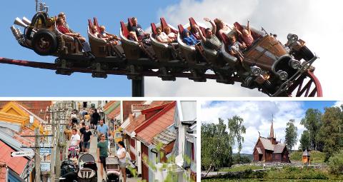 Tusenvis av tilreisende besøker Hunderfossen, Lilleputthammer og Maihaugen hver sommer. Nå forbereder alle for å unngå koronasmitte.