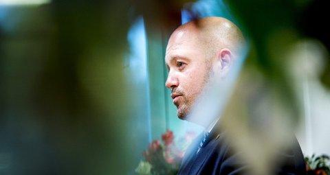 JUSTISMINISTER: Anders Anundsen. Foto: Scanpix