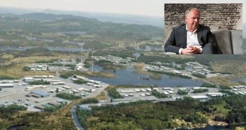 HAR FÅTT GRØNT LYS: Ordfører i Tysvær Sigmund Lier (Ap) legger ikke skjul på skuffelsen etter mandagens godkjenning av de tre vindturbinene i Gismarvik.