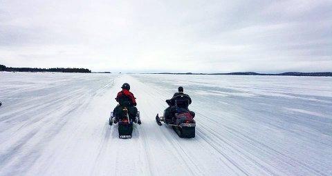 Sápmi Tour starter ved hytta til Ronald Johnsen i Joesjö, og Kiruna blir alltid besøkt.  Derfra går ferden til Abisko over Torneträsk, Kil pisjervi eller ander steder i Lappland.