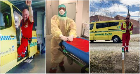DELER MYE: Følgerne til Vinnjar Bruknapp får et unikt innblikk i jobben hans som ambulansearbeider og paramedic.