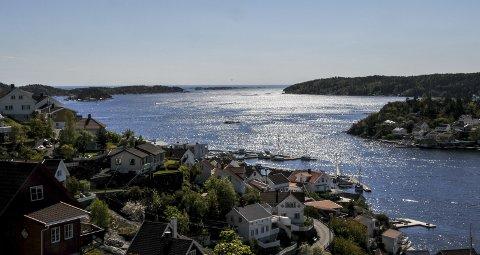 INNSEILING: Innseilingen til Kragerø regnes som en av landets farligste av Kystverket.