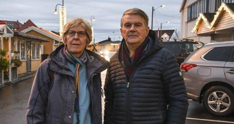 INITIATIV: Det er partiet rødt, her ved Birthe Paulsen og Olav Drevland, som har tatt initiativet til møtet.