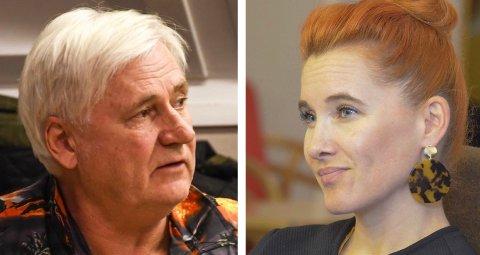 UENIGE: Ellef Ellegård (Frp) kalte Charlotte Therkelsen Sætersdal (Rødt) for prippen i formannskapet.
