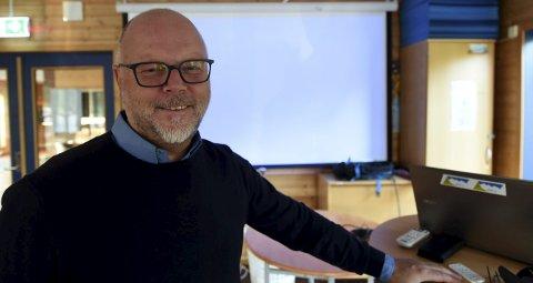 NY KIR-LEDER: Roy N. Wetterstad, Skrim, er ny leder for Kongsberg idrettsråd.FOTO: OLE JOHN HOSTVEDT