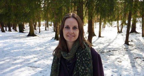 – Byrådet har undervurdert hvor stor påkjenning det gir lokalt når trær hugges, sier Celine Motzfeldt Loades, her avbildet i Nordseterskogen.