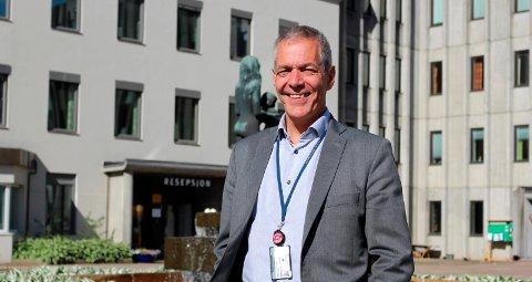JOBBER MED SAKEN: Sverre Gotaas og Herøya Industripark jobber fra å finne løsninger for utfylling i Gunneklevfjorden som er regningssvarende. Så langt har de ikke kommet i mål.