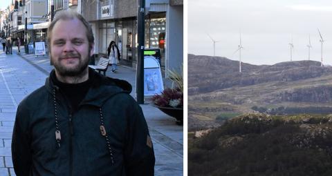 Mimir Kristjansson foreslår å avvikle driften av vindparken lenge før tiden.