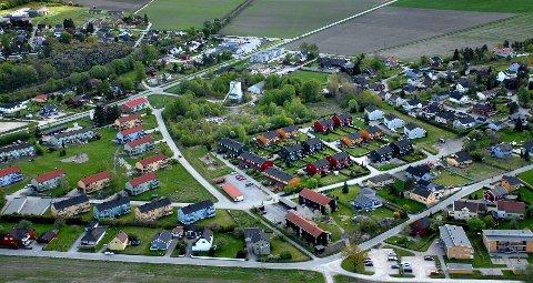 UTEN STRØM: Cirka 84 abonnenter er uten strøm på Navestad etter at Hafslund Nett koblet ut strømmen onsdag morgen.
