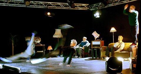 «Gamle» breakere: Den akrobatiske dansegruppen Absence Crew imponerte publikum under torsdagens forestilling.