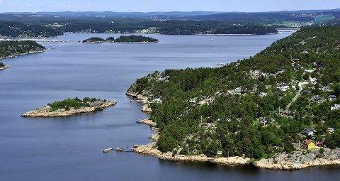 Det blir båtkortesje i Skjebergkilen på 17. mai. Arkivfoto